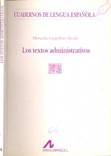 Los Textos Administrativos